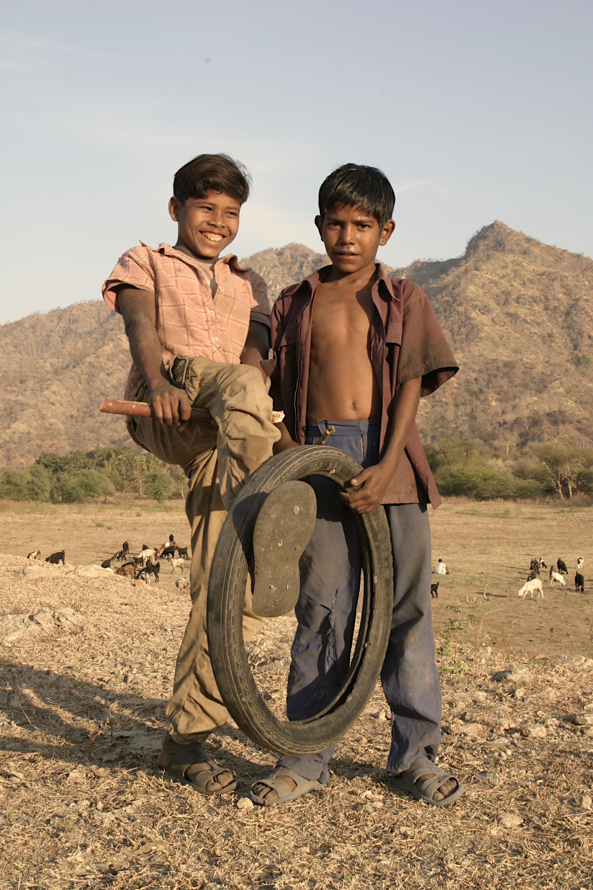 Goat herders of Ranakpur